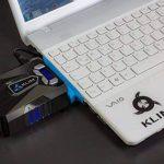 KLIM k29 Cool Refroidisseur PC Portable Gamer [Version 2016] - Ventilateur Haute Performance pour Refroidissement Rapide - Extracteur d'air Chaud USB, Bleu de la marque KLIM image 4 produit