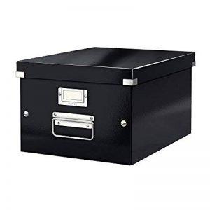 Leitz Boîte de Rangement, A4, Taille Moyenne, Noir, Click & Store, 60440095 de la marque Leitz image 0 produit