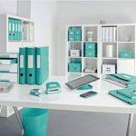 Leitz Porte-revues, A4, couleur bleu glacé, Click & Store, 60470051 de la marque Leitz image 4 produit