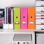 Leitz Porte-revues, A4, Orange, Click & Store, 60470044 de la marque Leitz image 4 produit