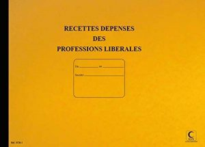 LES FACONNES PAIER - journal recette/dépense profession libérale 80pages, 27x37cm assotriment couleur de la marque Lebon Et Vernay image 0 produit
