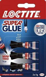 LOCTITE Super Glue Mini Trio 3 X 1g Tube de la marque Loctite image 0 produit
