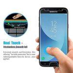 Loquiet[Lot de 2]Verre Trempé Samsung J3 2017,Film Protection en Verre trempé écran Protecteur Vitre- ANTI RAYURES - SANS BULLES D'AIR -Ultra Résistant Dureté 9H pour Samsung J3 2017 de la marque loquiet image 3 produit