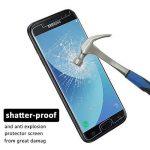 Loquiet[Lot de 2]Verre Trempé Samsung J5 2017,Film Protection en Verre trempé écran Protecteur Vitre- ANTI RAYURES - SANS BULLES D'AIR -Ultra Résistant Dureté 9H pour Samsung J5 2017 de la marque loquiet image 2 produit