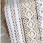 Lot de ruban (20m) assortis en coton, mariage, bords détaillés, crochet par RayLineDo® de la marque RayLineDo image 4 produit