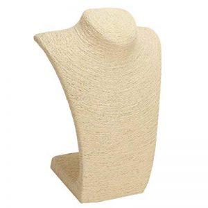 MagiDeal Présentoir Buste Support d'Affichage En PVC et Cordon de Bijoux pour Collier de la marque MagiDeal image 0 produit
