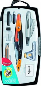 Maped Metal Open 036908 Coffret Compas 8 pièces de la marque Maped image 0 produit