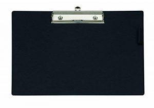 MAUL 2336790 A3 Plastique Noir bloc-notes - Blocs-notes (Noir, A3, Carton, Plastique, 450 mm, 330 mm, 14 mm) de la marque MAUL image 0 produit