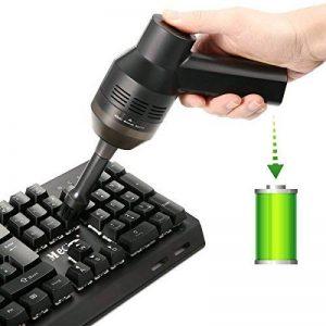 Mini Aspirateur Sans Fils Rechargeable pour Clavier Keyboard Ordinateur Souris MECO Kit de Nettoyage à Brosse de Poussière de Clavier d'Ordinateur de la marque MECO image 0 produit