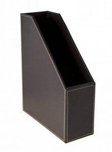 Osco Faux Leather Magazine Rack - Brown marron de la marque Osco image 0 produit