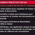 Oxford - 400019523 - Organiser Book - Cahier + Trieur - 160 Pages - Coloris Aléatoire de la marque Oxford image 2 produit