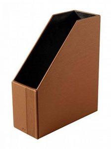 Parures et accessoires de bureau en cuir Range-revues terracotta de la marque Läufer image 0 produit
