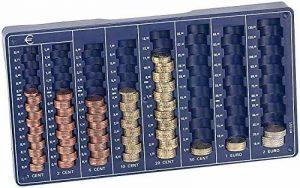 Planche Monnaie pour euros et cents: Compact pour pièces de la marque timtina image 0 produit