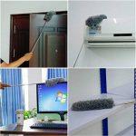 Plumeau Poussière,Plumeau Microfibre avec Poteau Extensible Pliable pour la Maison le Bureau et les Voitures 3packs de la marque QH-Shop image 3 produit