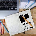 Pochoir en plastique, modèle de dessin graphique Pochoir Planner pour la peinture Artisanat Art Bullet Journal Scrap Réservation Carnet de notes Diary Card DIY-20 Pack de la marque image 2 produit