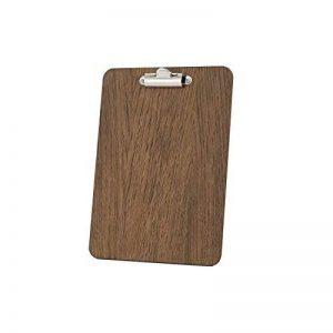 Porte-bloc, 240x 175mm, A5, finition en bois de chêne foncé de la marque Chalkboards UK image 0 produit