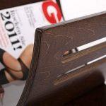 porte revue marron TOP 4 image 2 produit