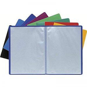 Porte vues prolypropylene souple pochettes grainees opaque 100 vues - a4 de la marque Exacompta image 0 produit