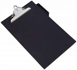 Rapesco Porte-Bloc A4 avec Clip de Grande Capacité (Lot de 1) Noir de la marque Rapesco image 0 produit