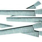 Rapid, 11858825, Agrafes en fil fin N°53, Longueur 10mm, 2500 pièces, Pour le textile et la décoration, Fil galvanisé, Haute performance de la marque Rapid image 4 produit