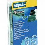 Rapid, 40108800, Agrafes de grillage galvanisées vertes, VR16, 2-8 mm, 1390 pièces, Haute qualité de la marque ISABERG RAPID AGRAFAGE image 1 produit