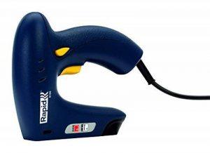 Rapid, 5000578, Agrafeuse électrique, Grande capacité, Pour le bricolage et la décoration, E100 de la marque Rapid image 0 produit