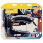 Rapid, 5000578, Agrafeuse électrique, Grande capacité, Pour le bricolage et la décoration, E100 de la marque Rapid image 1 produit