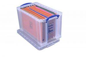 Really Useful Boîte de rangement du papier avec 10dossiers suspendus de format ministre 24 L de la marque Really Useful image 0 produit