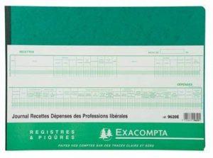 Registre - EXACOMPTA - Journal de recettes - 9620E de la marque Exacompta image 0 produit