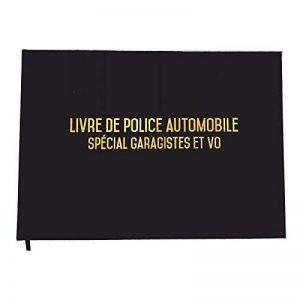 Registre spécial garagistes garages et VO - Livre de police automobile - 100 pages - Qualité premium de la marque UTTSCHEID image 0 produit