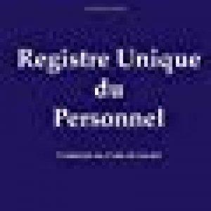 Registre unique du personnel: 2018 - conforme à la loi de la marque Registre du personnel image 0 produit