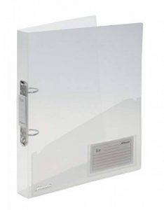 Rexel ICE Classeur 2 anneaux professionel, transparent de la marque Rexel image 0 produit