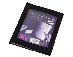 Rexel Livret de présentation A5, 24 pochettes, coloris noir de la marque Rexel image 0 produit