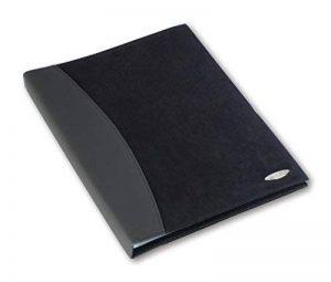 Rexel Soft Touch livret de présentation aspect combo, A4, 24 pochettes (noir combo) de la marque Rexel image 0 produit