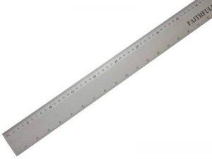 Règle en aluminium Faithfull 1000 - 1m de la marque Faithfull image 0 produit