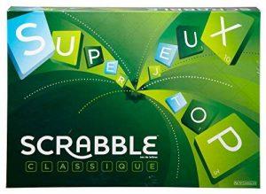 Scrabble, Jeu de Société et de Lettres, Version Française de la marque Mattel Games image 0 produit