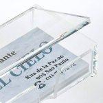 Sigel VA112 Porte-cartes de visite, pour 80 cartes format 9 x 5,8 cm, en acrylique transparent de la marque Sigel image 1 produit