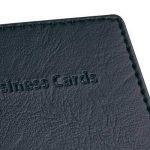 Sigel VZ170 Porte-cartes de visite, jusqu'à 40 cartes, 9 x 5,8 cm, similicuir, noir de la marque Sigel image 1 produit
