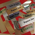 Signalisation Alu brossé Plaque de porte BAR de la marque SAFIRMES image 1 produit