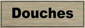 Signalisation Alu brossé Plaque de porte Douches de la marque SAFIRMES image 0 produit