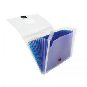 Snopake Trieur à soufflet avec porte-carte de visite 13 compartiments A4 (Import Royaume Uni) de la marque Snopake image 0 produit