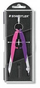 Staedtler - Mars Comfort 556 - Edition Neon - Compas Géométrique de Précision Grand Balustre Rose/Violet de la marque Staedtler image 0 produit