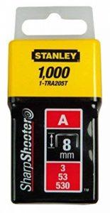 Stanley 1-TRA204T Agrafe 6 mm Type A Boîte 1000 pièces de la marque Stanley image 0 produit