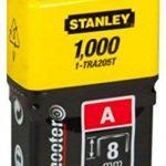 Stanley 1-TRA204T Agrafe 6 mm Type A Boîte 1000 pièces de la marque Stanley image 1 produit