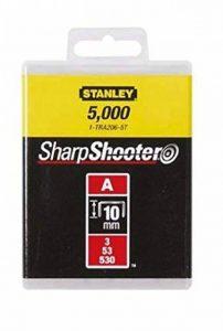 Stanley 1-TRA206-5T Agrafe 10 mm Type A Boîte 5000 pièces de la marque Stanley image 0 produit