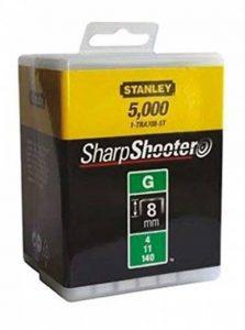 Stanley 1-TRA705-5T Lot de 5000 agrafes robustes de type G 8 mm de la marque Stanley image 0 produit