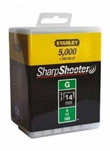 Stanley 1-TRA709-5T Lot de 5000 agrafes robustes de type G 14mm de la marque Stanley image 0 produit
