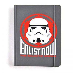 Star Wars A5 Notebook Stormtrooper Icon Half Moon Cancelleria de la marque Half Moon Bay image 0 produit