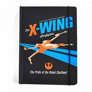 Star Wars A5 Notebook X-Wing Icon Half Moon Cancelleria de la marque Half Moon Bay image 0 produit