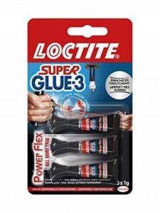 Superglue - 1858125-3 Gel Power Flex - Mini Trio Doses 3 x 1 gr de la marque Loctite image 0 produit